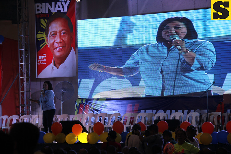 Actress and Paranaque Councilor Alma Moreno for senator