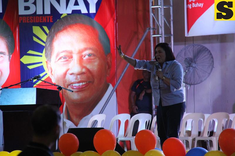 Actress and Paranaque Councilor Alma Moreno for senator