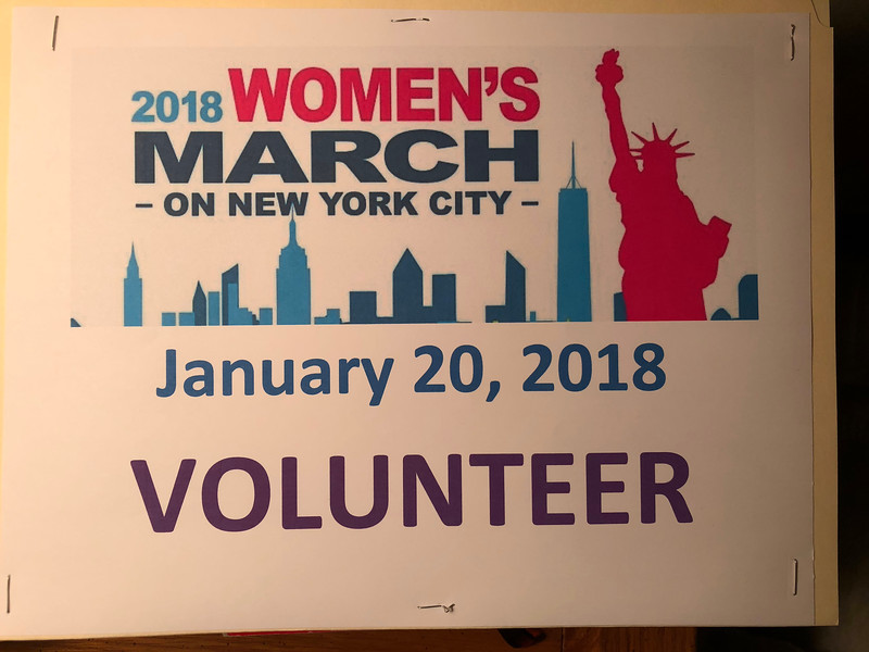 2018 NYC Womens March