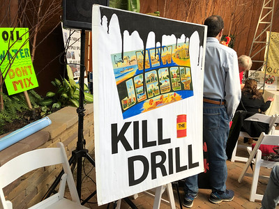 2018 Protest against Oil Drilling off the Jersey Shore