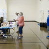 There was a steady stream of voters at the Millcreek Civic Center in Chesterfield during Indiana's primary election on Tuesday.