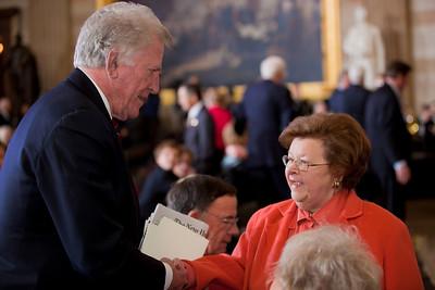 Gary Hart Senator Barbara Mikulski (D-MD)