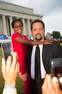 Ben Jealous is the 17th President and CEO of the NAACP. He spoke at the event.
