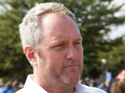 Conservative Internet publisher Andrew Breitbart attends the 9/12 Taxpayer March on Washington on September 12, 2010 on the West Lawn of the U.S. Capitol in Washington D.C.  Brietbart was a featured speaker at the event which was sponsored by FreedomWorks. (Photo by Jeff Malet)
