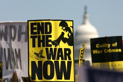 Peace March, Washington DC, 9/15/07