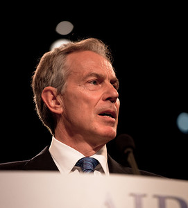Tony Blair, former Prime Minister of Great Britain