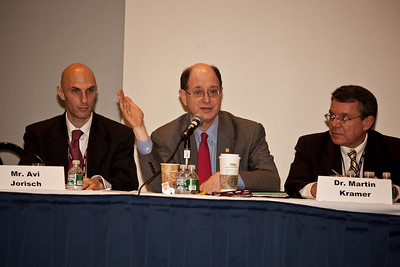 Avi Jorisch (Red Cell Intelligence Group and Foundation for Defence of Democracies), Rep. Brad Sherman (D-CA)