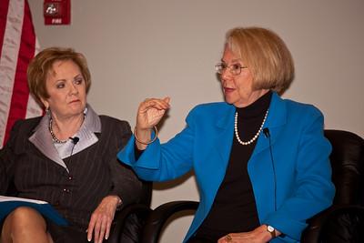 Rep. Kay Granger (R-TX), Ann Lewis (President, No Limits Foundation)