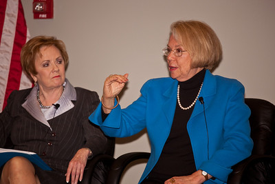Rep. Kay Granger (R-TX), Ann Lewis (President, No Limits Foundation)