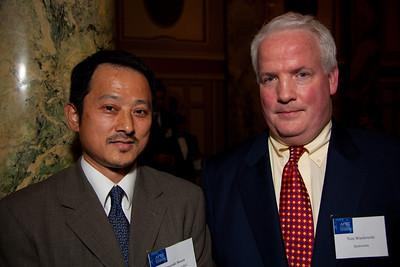Hiroyuki Hosoi, NTT, Genreal Manager and Chief Corporate Representative Washington DC Representative Office Tom Wasilewski, Qualcomm, Sr. Dir. Government Affairs