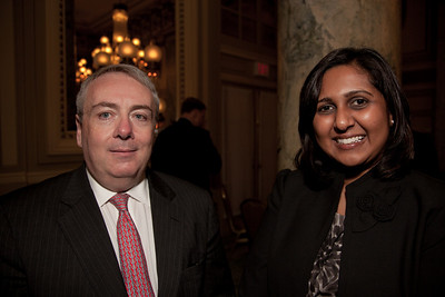 Philip Vaughn, Flour Corp. Alpana Roy, Embassy of Singapore, Economics Counsellor