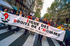 Paris, France.. Public Demonstration, French Gays, LGBT Groups Protesting for Partnership Contract, PACS (Pre-Gay Marriage) 1999