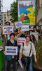 "Paris, France, LGBT Group Demonstration ""Happening"" in Memory of Victims of Homophobic Violence, 12/6/13"