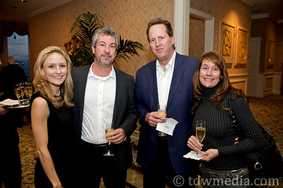 Heather Henson, America's Cup Event Authority; Chris Connor, John Frawley, Bay Institute and Anita Frawley