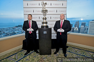 The America's Cup Trophy