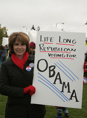Anchorage Obama Rally - October 4, 2008