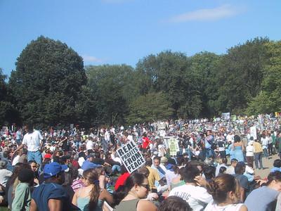 Anti War Demo - October 6, 2002