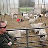 Keith Kopley the owner of Kalon Farm in Ashburnham talks about the land fill off of Mechanic Street in Leominster that he is going to be using as grazing land for his sheep. SENTINEL & ENTERPRISE/JOHN LOVE