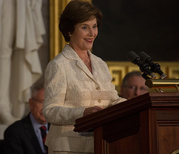 Former First Lady Laura Bush