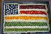 Rainbow flag cake -- fruity diversity :)