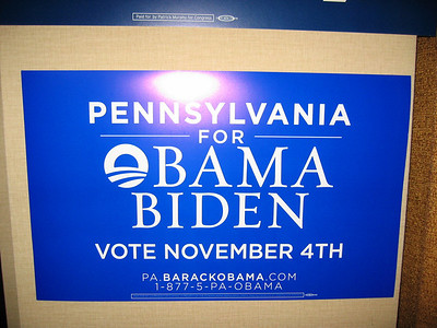 Barack Obama Election Day 2008