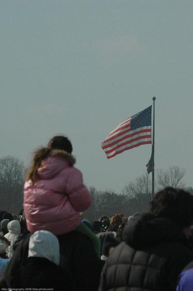 At the inauguration.