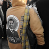 """Have you ever stopped to consider the last President we had that actually inspired his own """"gear""""?  Not just t-shirts or buttons, but GEAR.  Think about that.  Anyone ever see a George W hoodie?"""