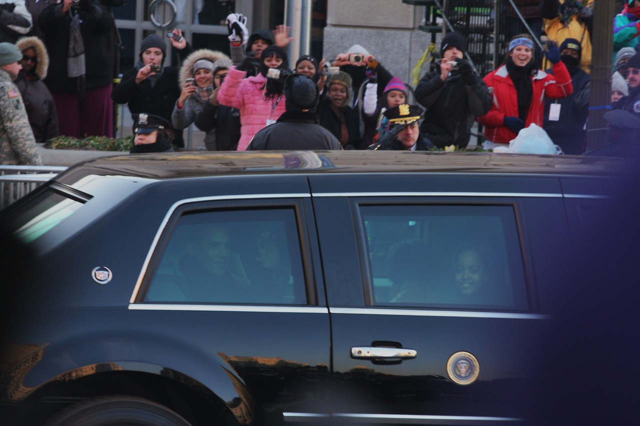 President Obama & Malia.