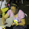 Tallying of votes in barangay elections 2013 in Barangay Guadalupe, Cebu City