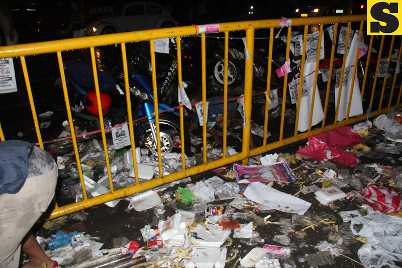 Garbage after barangay elections