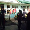 Scene at around 8:00 am within the vicinity of Bigaa Elementary School in Balagtas, Bulacan
