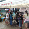 CEBU. These residents check the location of their precincts during a plebiscite in Barangay Guadalupe Saturday, July 28, 2012. (Laureen Mondonedo/Sunnex)