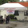 CEBU. Security personnel manning the plebiscite Saturday, July 28, 2012, in Barangay Guadalupe, Cebu City. (Laureen Mondonedo/Sunnex)