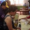 CEBU. Former Cebu south district congressman Antonio Cuenco cast his vote Saturday, July 28, 2012, in Barangay Guadalupe, where a plebiscite was held. (Laureen Mondonedo/Sunnex)