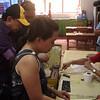 CEBU. Former Cebu south district congressman Antonio Cuenco cast his vote Saturday, July 28, 2012, in Barangay Guadalupe, where a plebiscite was held. (Laureen Mondonedo/Sunnex)