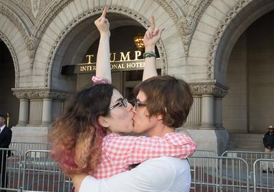 LGBT, protest, Trump