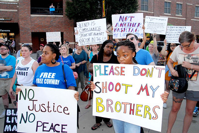 Black Lives Matters Rally July 8, 2016