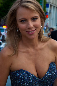 CBS correspondent Lara Logan (the reporter who had been assaulted in Egypt)