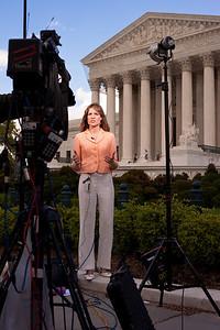 Samantha Hayes at the Supreme Court - CNN