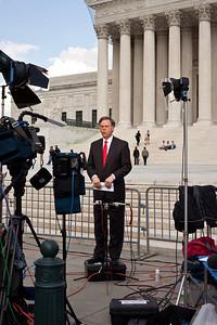 NBC - Pete Williams at the Supreme Court