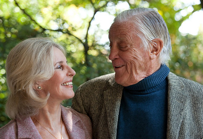 Sally Quinn and Ben Bradlee