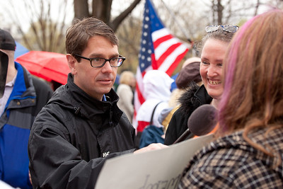 Griff Jenkins (Fox News) at the DC Tea Party