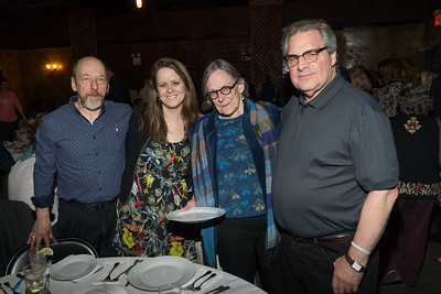 More Friends Of Peace: l to r: Sam Koprak, Melissa Corbett, Molly Nolan and Eric Shtob.