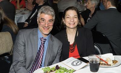 Josh Skaller with Joan Bartolomeo.