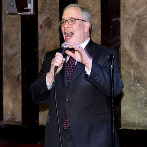 NYC Comptroller Scott Stringer greets the guests at the annual CBID dinner.