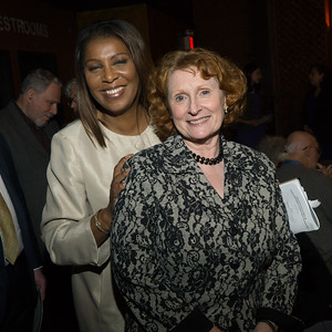 Tish James, the NYC Public Advocate with Assemblywoman Jo Anne Simon.