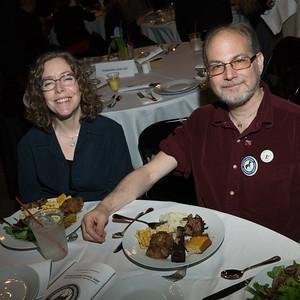 CBID peeps, First Vce-President Joy Romanski and David Michaelson.