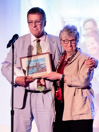 Marty Bernstein presents a memorial tribute to xXXXX, the widow of xxxxxx