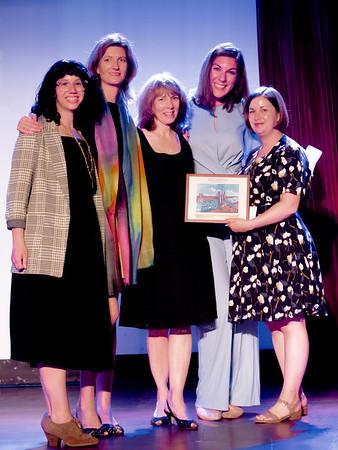 WHARR members reciving their award from CBID.