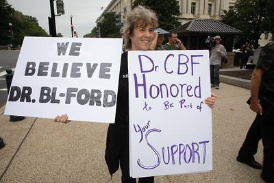 Brett Kavanaugh; Christine Blasey Ford